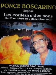 "Afiche ""Les coulers des sons"" ingresar- click"