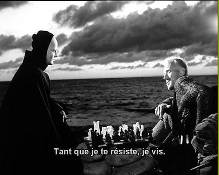 "BERGMAN  "" Le Septième Sceau"""