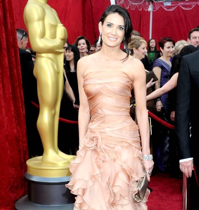 Demi Moore Jjewelry Oscars 2010