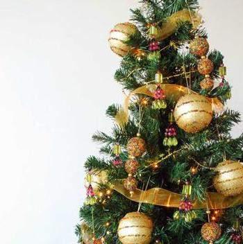 Consejos para decorar el rbol de navidad - Arboles de navidad dorados ...
