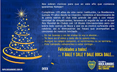 POSTAL ENVIADA POR LA GERENCIA DE MARKETING DE BOCA JUNIORS