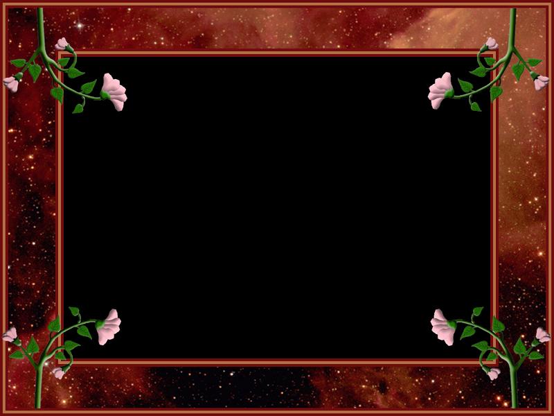 Marcos photoscape marcos fhotoscape marco espacio con flores - Marcos de fotos pared ...