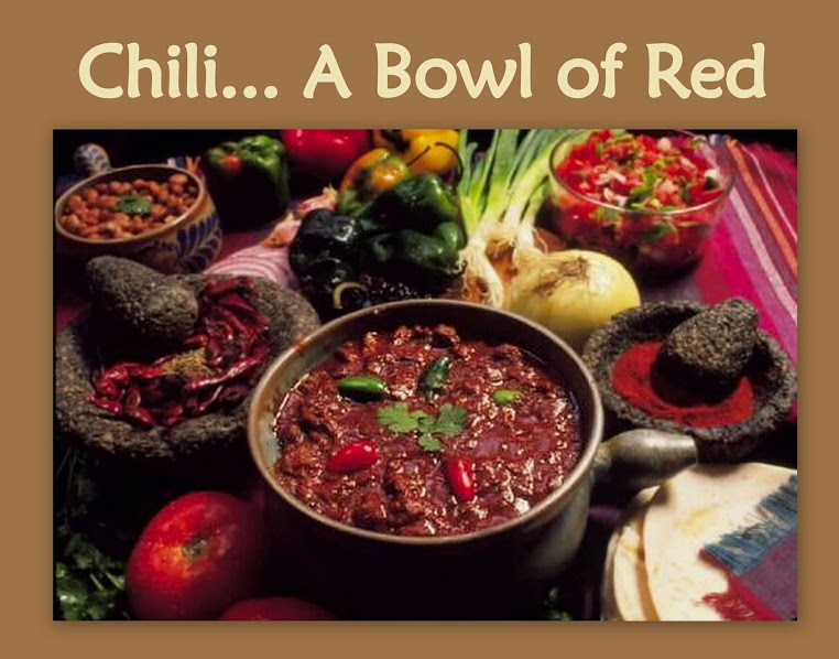 Chili... A Bowl of Red