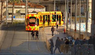 Montpellier, tram ligne 2