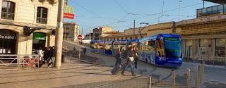 Montpellier, le tram vers l'Odysseum