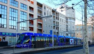 Le tram au Lez à Montpellier