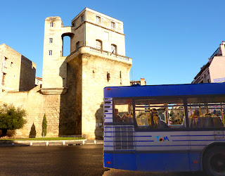 Montpellier, tour de la Babotte