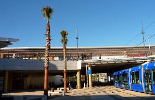 Le tram à Montpellier : Odysseum