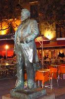 La statue de Jean Jaurès à Montpellier