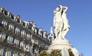 Montpellier, les trois grâces