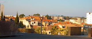 Montpellier, vue du Corum