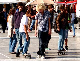 Manifestation des lycéens à Montpellier