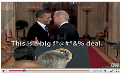 joe biden f bomb video