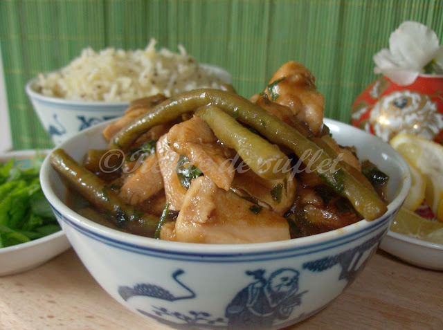 Stir fry de pui cu sos Hoisin