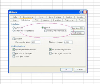 vba  How to refresh calculation instantaneously in excel