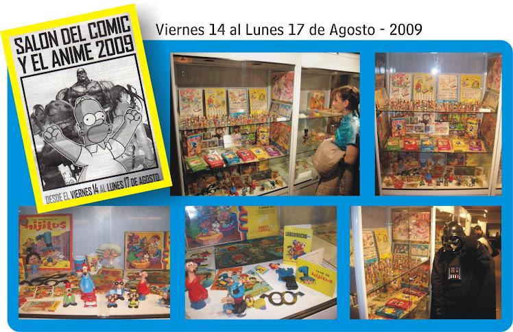 """""""El Sombreritus"""" en """"SALON DEL COMIC Y EL ANIME 2009"""