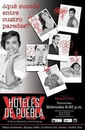 HOTELES DE PUEBLA, basada en textos dramáticos de Emilio Carballido y José Dimayuga