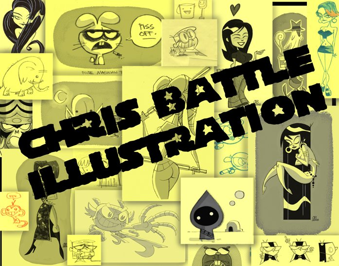 CHRIS BATTLE ILLUSTRATION