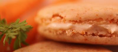 Carrot Cake Macaron