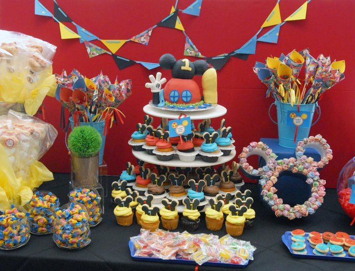 Mickey Mouse Clubhouse Candy Table - Best Image and Description ...