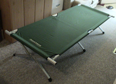 field and stream folding cot