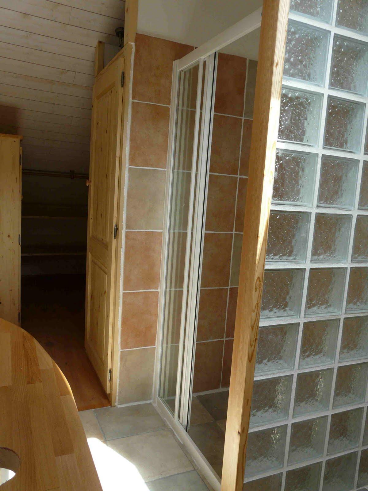 Commune de charens travaux patrimoine am nagement des for Cloison verre douche italienne