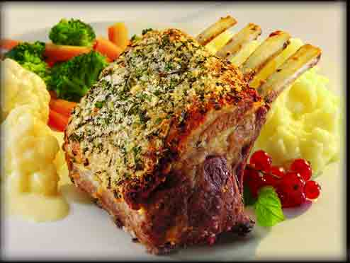 SPLENDID LOW-CARBING BY JENNIFER ELOFF: *Rack of Lamb* (GF)