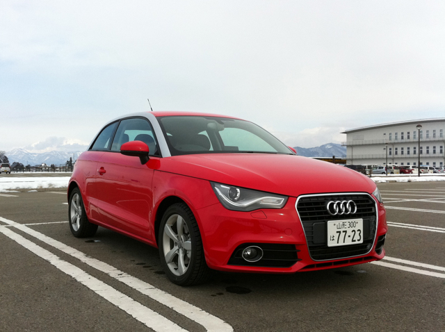 route 13 audi a1 test drive. Black Bedroom Furniture Sets. Home Design Ideas