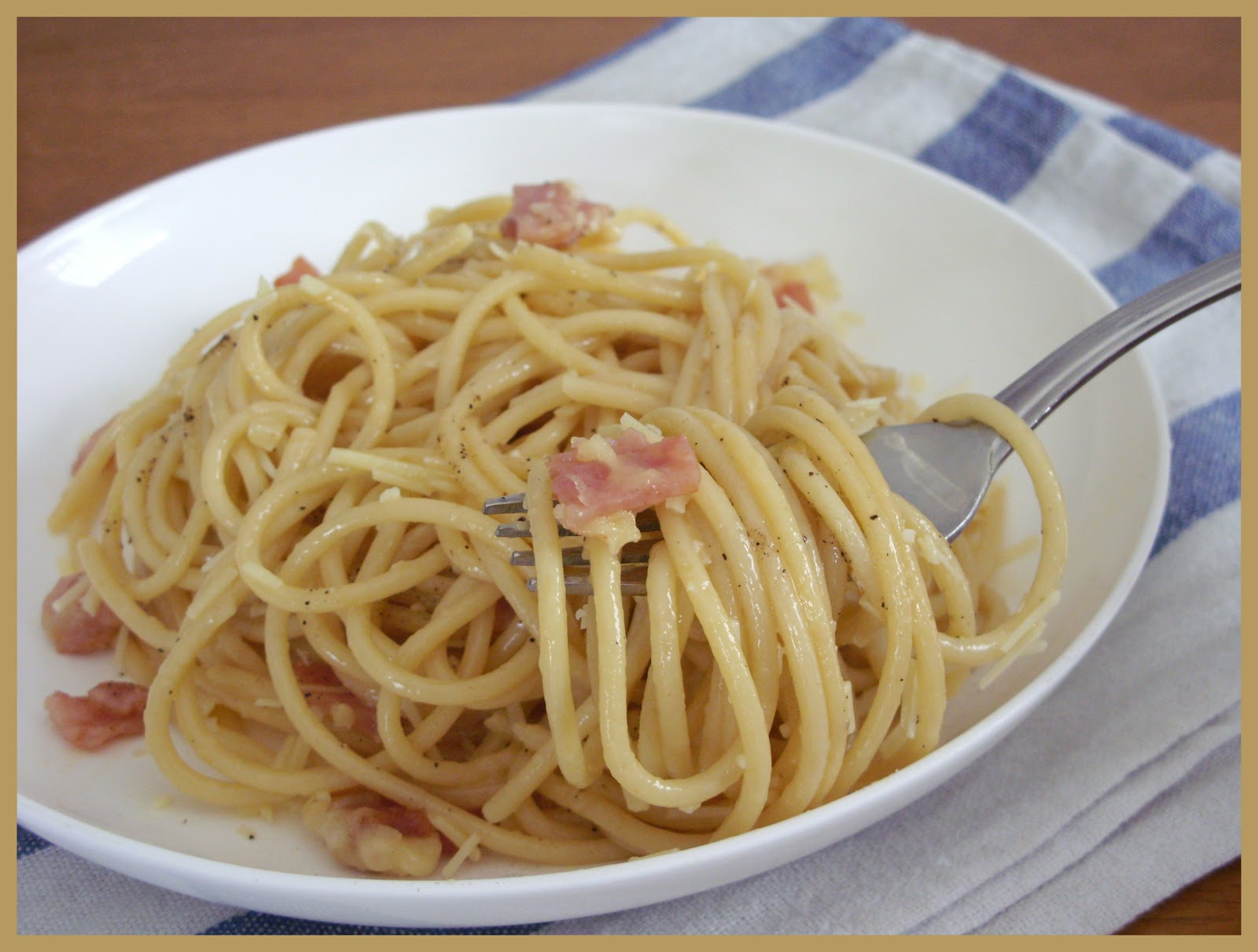 These Tastes of Mine / Spaghetti alla Carbonara