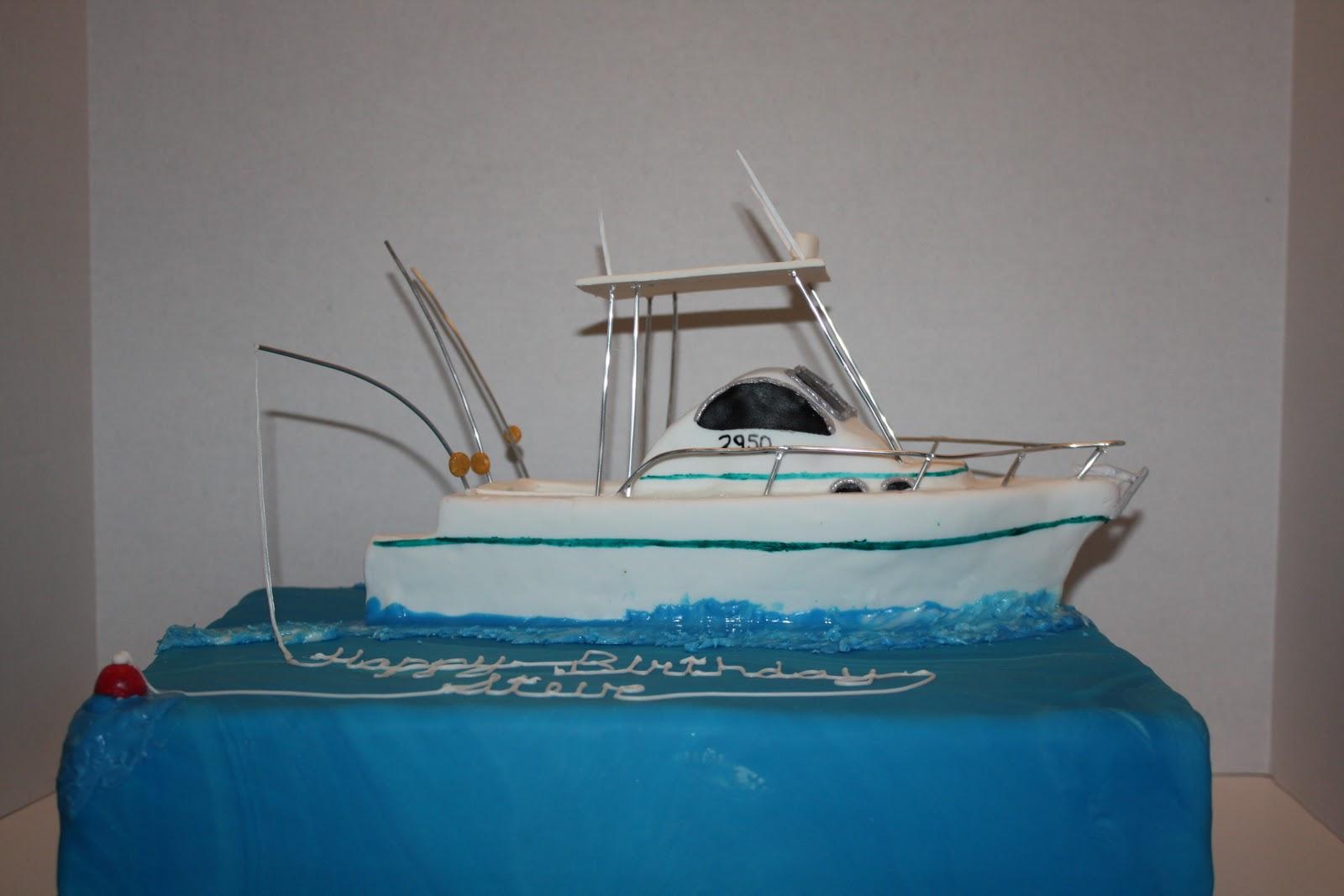 Sweet Eats Cakes Oldie But Goodies - Fishing boat birthday cake