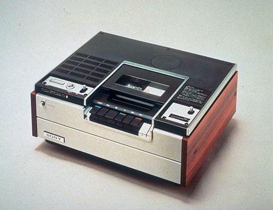 Tecnología Para el Recuerdo GRABADORA+BETAMAX+1975