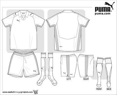 Soccer jersey templates printable football jersey template