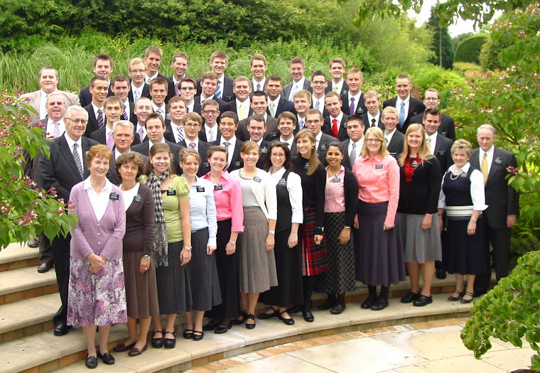 All missionaries at the Preston, England MTC July 2010