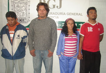 Consigna PGJ peligrosa banda delictiva dedicada al robo de vehículos