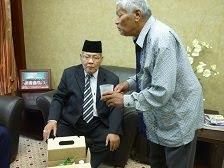 Pak Ali bersama MB kedah