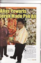 Pewaris jeruk Pak Ali