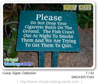 funny warning signs - funny signs