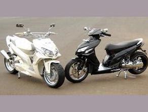 Honda Vario Batman dan Supermoto