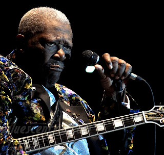 B.B. King at the King Biscuit Festival, 2010