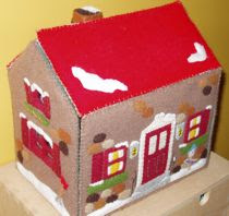 Felt Doll House