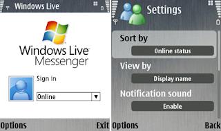 msn microsoft im live messenger symbian s60