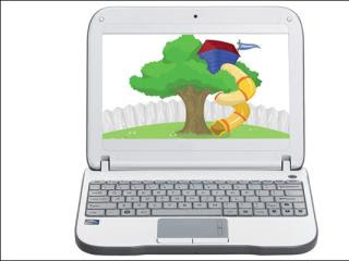 PeeWee PC netbook for kids