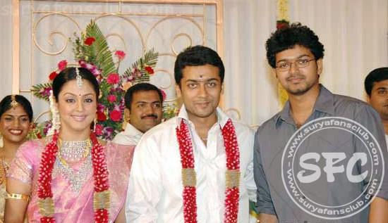 Jyothika Photos 2012 Surya Jyothika Marriage Photos