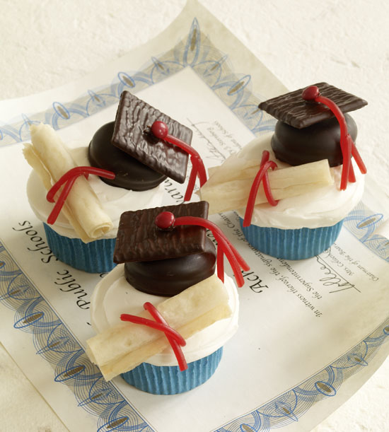 Graduation Cupcakes Decorating Ideas