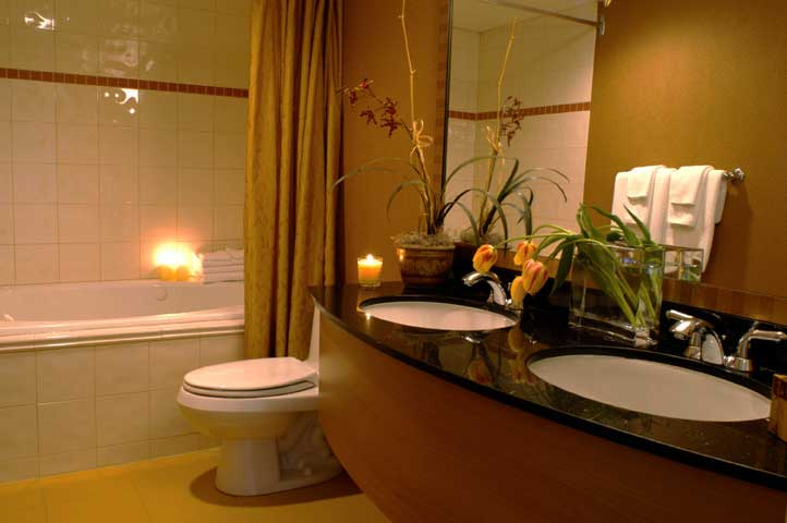 Semuamuat Romantic Bathroom Design