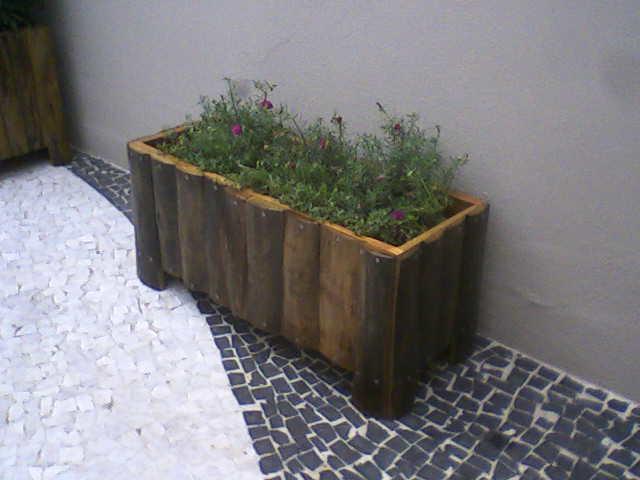 Artesanato Dos Acores ~ cachepos de madeira reciclada