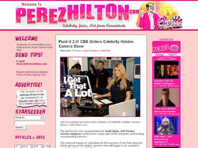 Perez Hilton Blog - Perezhilton.com