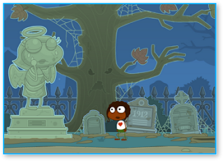 Poptropica haunted house walkthrough & Cheats