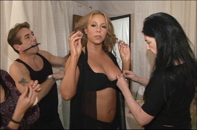 Mariah Carey benekter graviditet, har ikke bolle i ovnen! thumbnail