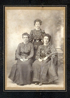 sepia, photo, sisters, victorian,age, maine